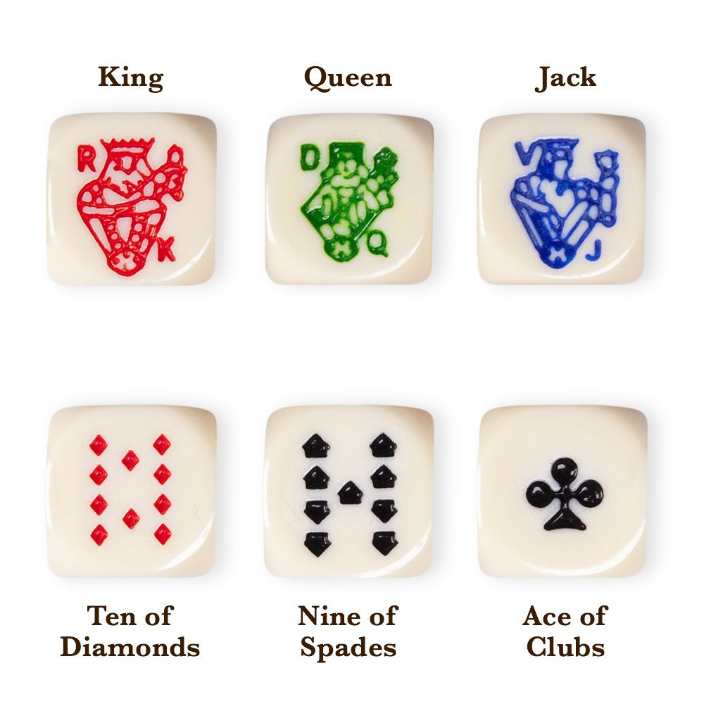 Engraved Logo Dice - NO.15