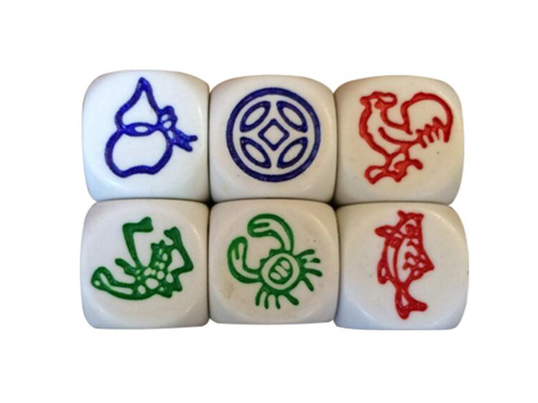 Engraved Logo Dice - NO.4