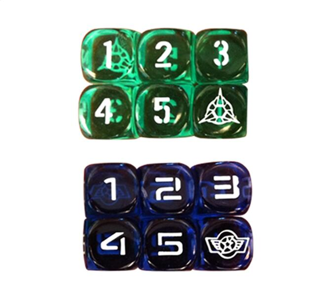 Engraved Logo Dice - NO.7