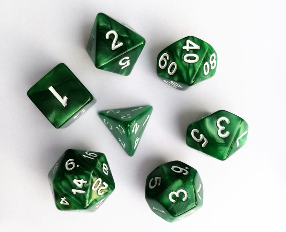 Polyhedral Dice Set - No.21