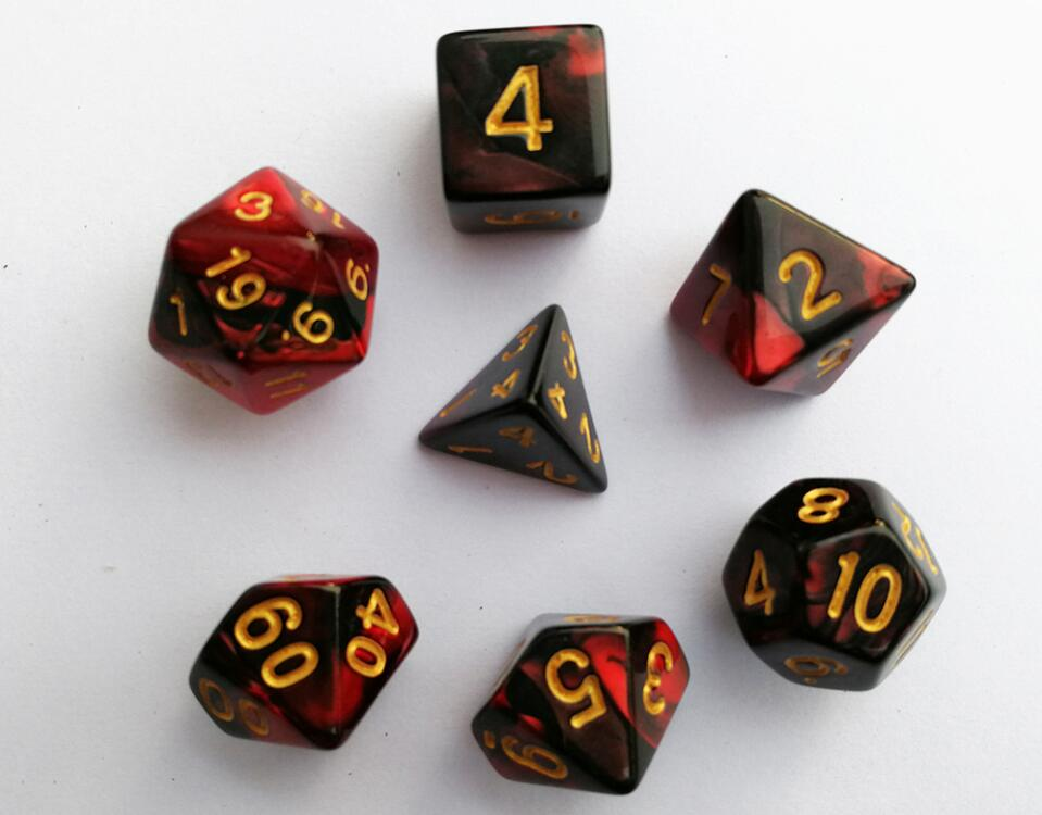 Double Color Dice Set - No.1
