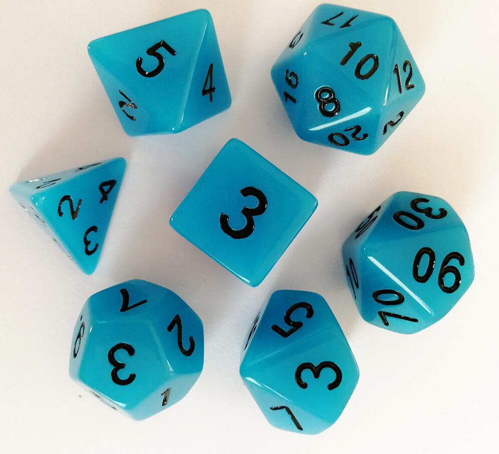 Glow In The Dark Dice - No.1